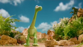 The Good Dinosaur Action Figures TV Spot, 'Meet New Dinosaurs'