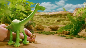 The Good Dinosaur Action Figures TV Spot, 'Meet New Dinosaurs' - Thumbnail 5