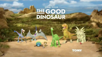 The Good Dinosaur Action Figures TV Spot, 'Meet New Dinosaurs' - Thumbnail 9