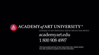 Academy of Art University TV Spot, 'Who Created All These Images?' - Thumbnail 9