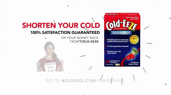 Cold EEZE TV Spot, 'With or Without Cold EEZE' - Thumbnail 8