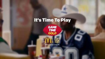 McDonald's Game Time Gold TV Spot, 'Cowboys' Featuring Jerry Rice - Thumbnail 6