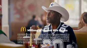 McDonald's Game Time Gold TV Spot, 'Cowboys' Featuring Jerry Rice - 253 commercial airings