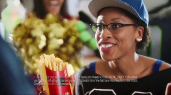 McDonald's Game Time Gold TV Spot, 'Super Fans' Featuring Deion Sanders - Thumbnail 4