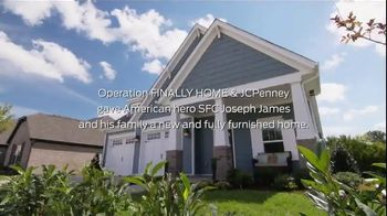 JCPenney TV Spot, 'Operation Finally Home: James Family' Ft. Cole Swindell - 1 commercial airings
