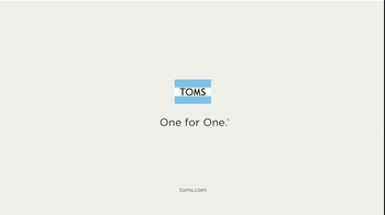 TOMS TV Spot, 'For One, Another' Song by The Alternate Routes - Thumbnail 8