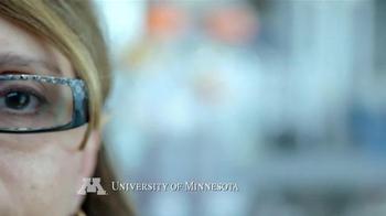 University of Minnesota TV Spot, 'What Drives Angela Panoskaltsis-Mortari?' - Thumbnail 1