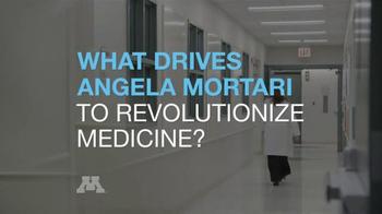 University of Minnesota TV Spot, 'What Drives Angela Panoskaltsis-Mortari?' - Thumbnail 3