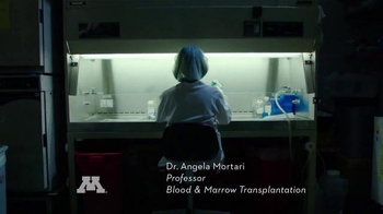 University of Minnesota TV Spot, 'What Drives Angela Panoskaltsis-Mortari?'
