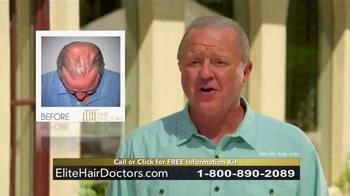 Elite Hair Doctors TV Spot, 'Permanent, Lifetime Growth' - Thumbnail 6