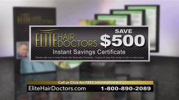 Elite Hair Doctors TV Spot, 'Permanent, Lifetime Growth' - Thumbnail 7