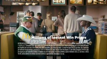 McDonald's Game Time Gold TV Spot, 'Lil Coach' Ft. Mike Ditka, Jerry Rice - Thumbnail 4