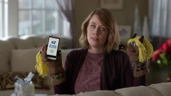 USPS Real-Time Delivery Notifications TV Spot, 'Holiday: Mittens' - 1201 commercial airings