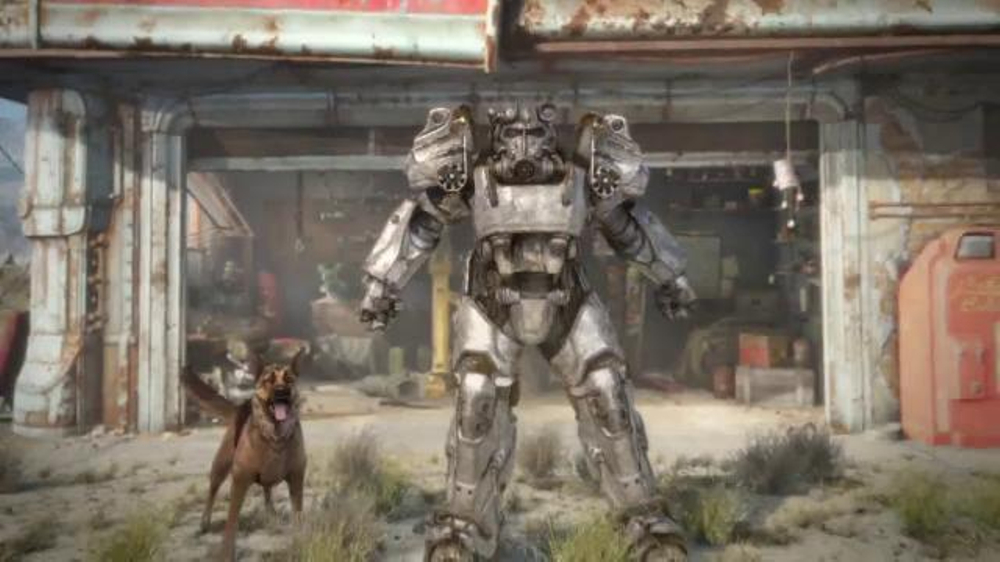 fallout 4 tv commercial fox sports 1 power armor ispot tv