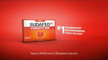 Sudafed Congestion TV Spot, 'Liberated' - Thumbnail 7