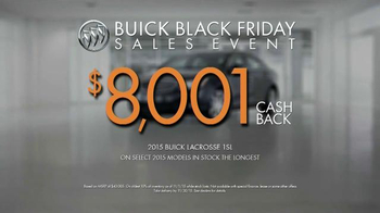 Buick Black Friday Sales Event TV Spot, 'It's a Buick' - Thumbnail 9
