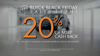 Buick Black Friday Sales Event TV Spot, 'It's a Buick' - Thumbnail 7