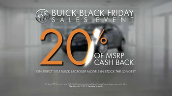 Buick Black Friday Sales Event TV Spot, 'It's a Buick' - Thumbnail 8