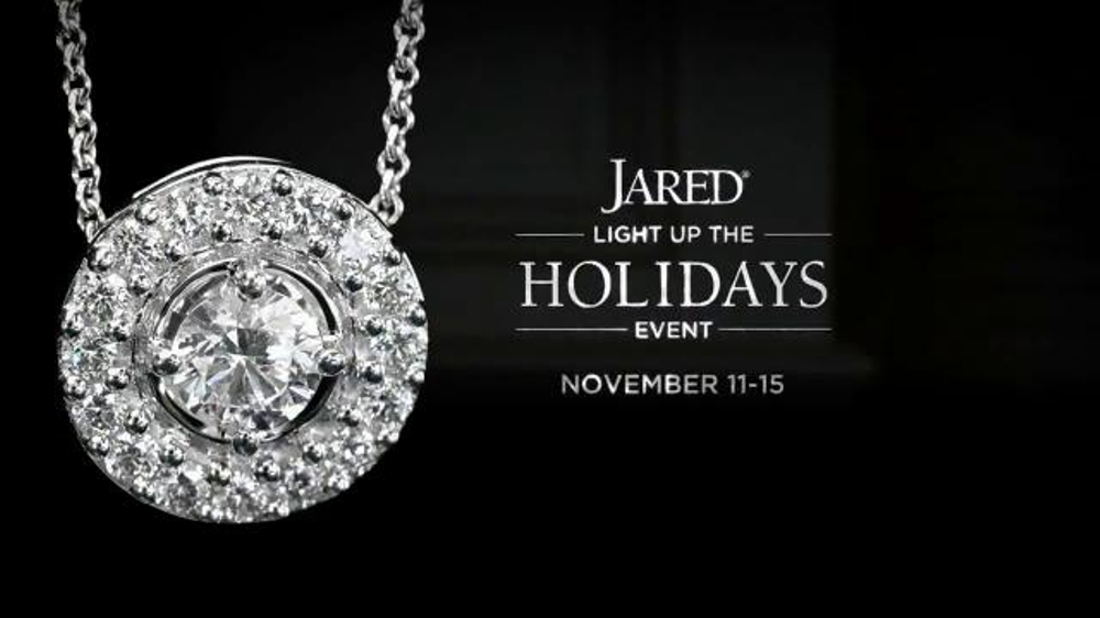 Jared Light Up the Holidays Event TV Commercial Exclusive Prices