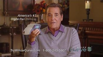 Willow Curve TV Spot, \'Drug-Free Pain Relief\' Featuring Chuck Woolery