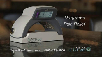 Willow Curve TV Spot, 'Drug-Free Pain Relief' Featuring Chuck Woolery - Thumbnail 2
