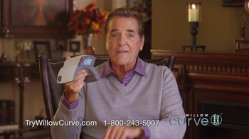 Willow Curve TV Spot, 'Drug-Free Pain Relief' Featuring Chuck Woolery - Thumbnail 3