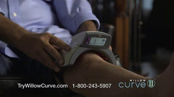 Willow Curve TV Spot, 'Drug-Free Pain Relief' Featuring Chuck Woolery - Thumbnail 6