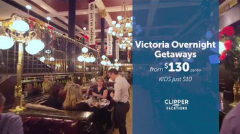Clipper Vacations TV Spot, 'Overnight Holiday Getaway' - Thumbnail 4