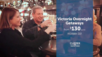 Clipper Vacations TV Spot, 'Overnight Holiday Getaway' - Thumbnail 5