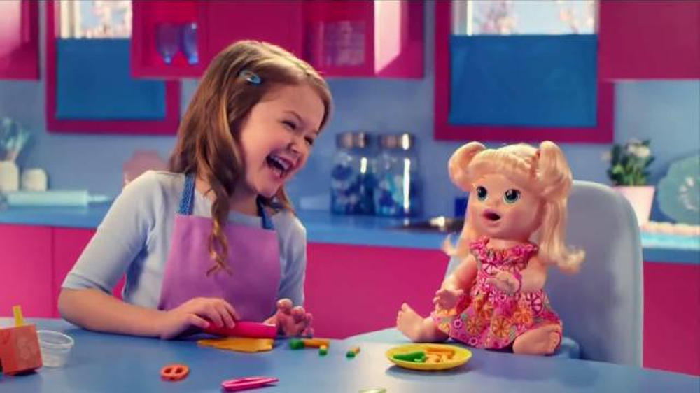 Baby Toy Commercial : Baby alive super snacks snackin sara tv commercial