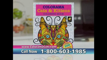 Colorama Books Cats & Kittens TV Spot, 'Page After Page' - Thumbnail 6