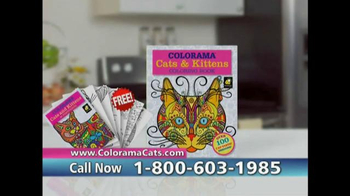 Colorama Books Cats & Kittens TV Spot, 'Page After Page' - Thumbnail 7
