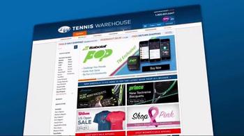 Tennis Warehouse TV Spot, 'Bryan Brothers Chest Bump' Featuring Bob Bryan - Thumbnail 6