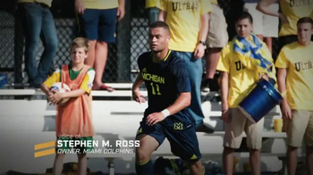 RISE to Win TV Spot, 'University of Michigan' Ft. Tom Brady, Desmond Howard - Thumbnail 1