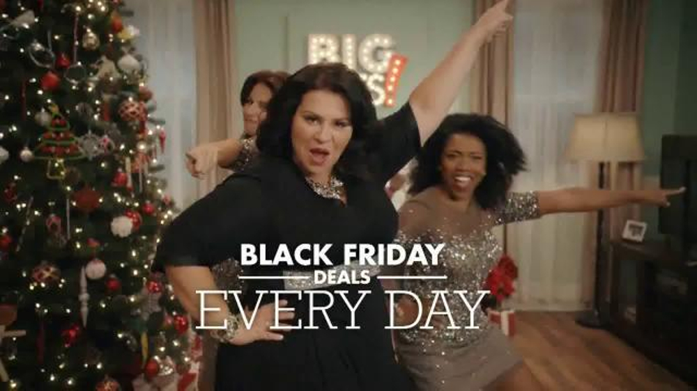big lots tv commercial black friday woman ispottv - Big Lots Christmas Commercial