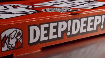 Little Caesars Pizza TV Spot, 'Deep! Deep! Dishcount!' [Spanish] - Thumbnail 3
