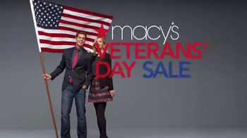 Macy's Veterans Day Sale TV Spot, 'Save Storewide'