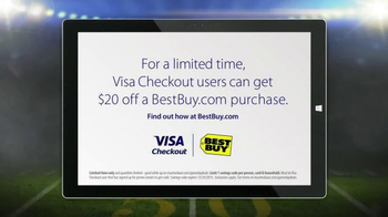 VISA Checkout TV Spot, 'Fumble: Retired' - Thumbnail 10