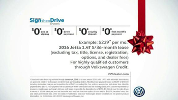 Volkswagen Sign Then Drive Event TV Spot, 'Gifts for the Family' - Thumbnail 8