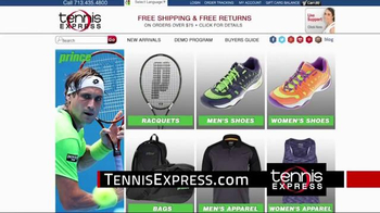 Tennis Express TV Spot, 'Prince Shoes' - Thumbnail 1