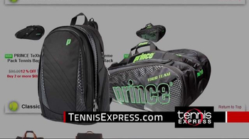 Tennis Express TV Spot, 'Prince Shoes' - Thumbnail 10