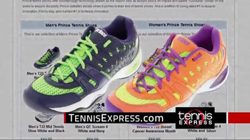 Tennis Express TV Spot, 'Prince Shoes' - Thumbnail 7