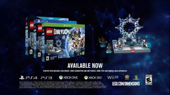 LEGO Dimensions TV Spot, 'Awesome Heroes and Epic Worlds' - Thumbnail 7
