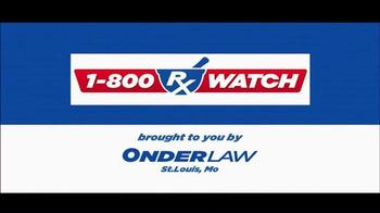 Onder Law Firm TV Spot, 'Talcum Powder' - Thumbnail 1