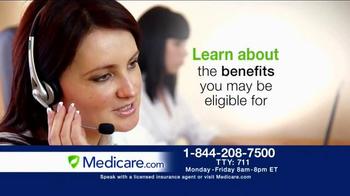 Medicare.com TV Spot, 'Helpful New Benefits' - Thumbnail 7
