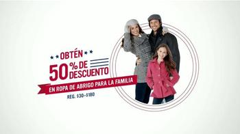 Sears Venta del Día de los Veteranos TV Spot, 'Ropa de abrigo' [Spanish] - Thumbnail 3