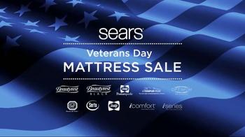 Sears Veterans Day Mattress Sale TV Spot, 'Sleep Better'