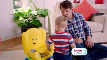 Fisher Price Smart Stages Chair TV Spot, 'Learning Levels' - Thumbnail 8