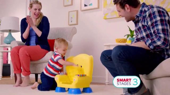 Fisher Price Smart Stages Chair TV Spot, 'Learning Levels' - Thumbnail 9
