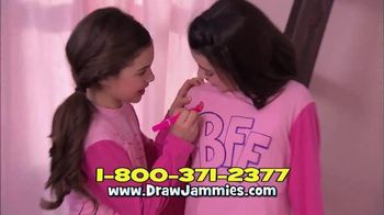 Draw Jammies TV Spot, 'Pajamas That You Draw On'